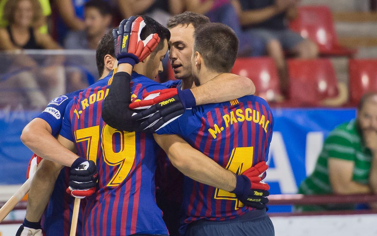 FC Barcelona Lassa 7-1 CP Calafell: Semi-finalists