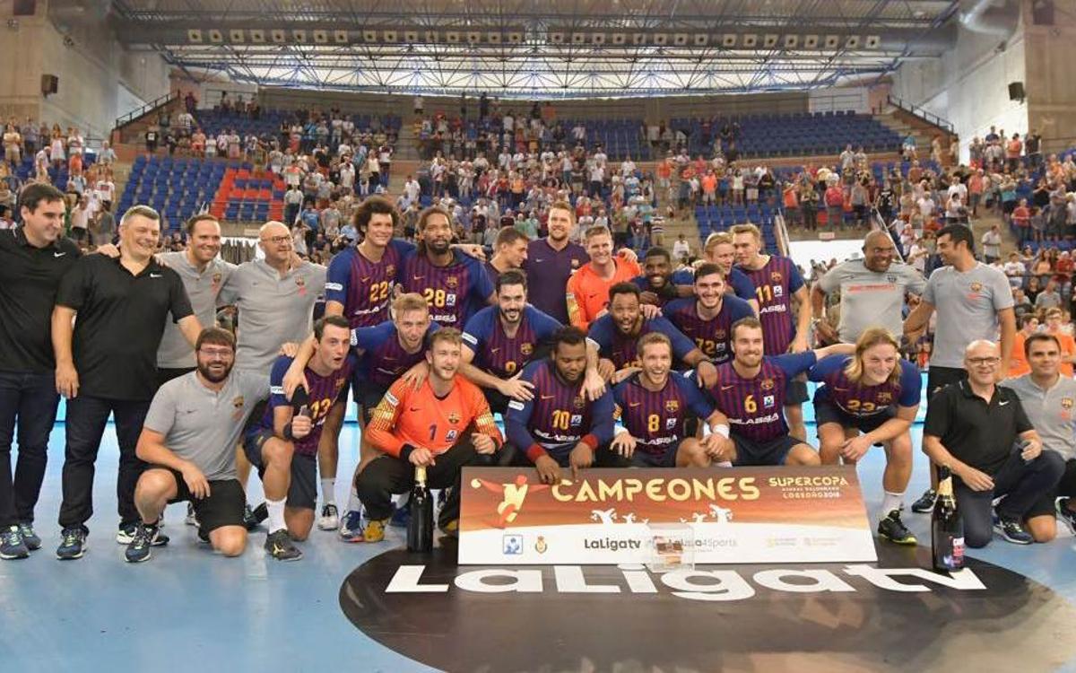 Séptima Supercopa Asobal consecutiva