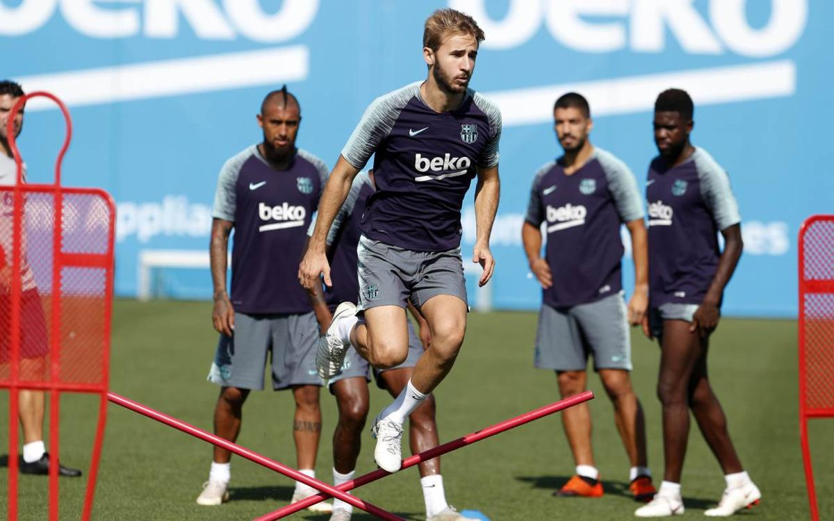 Sergi Samper back after injury
