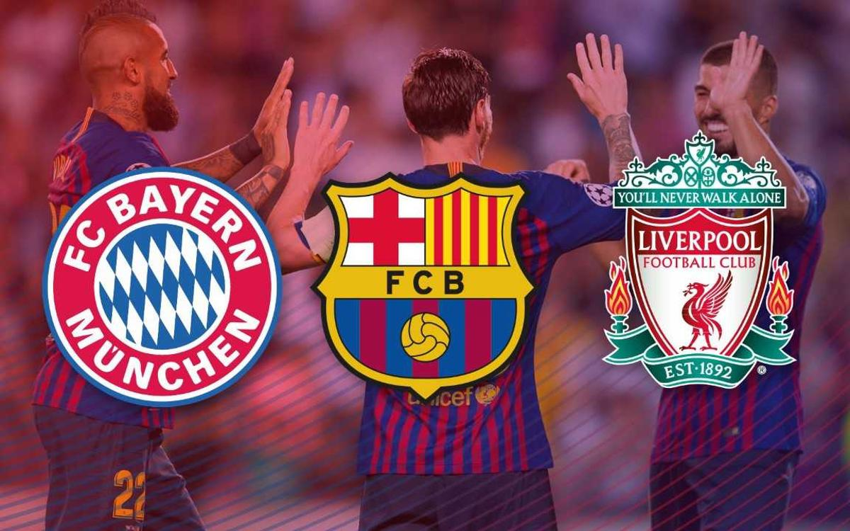 Barça, Liverpool, and Bayern Munich off to hottest starts in Europe