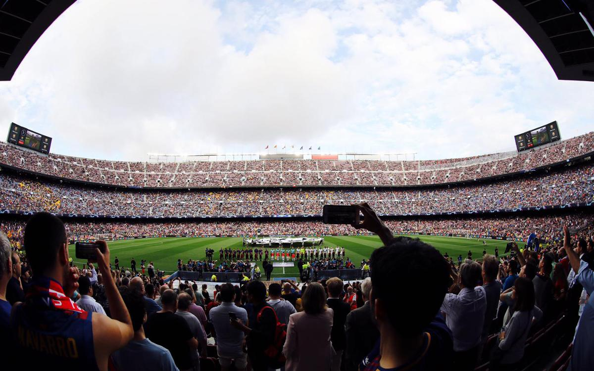 El FC Barcelona - PSV, la millor entrada de la jornada 1 de la Champions