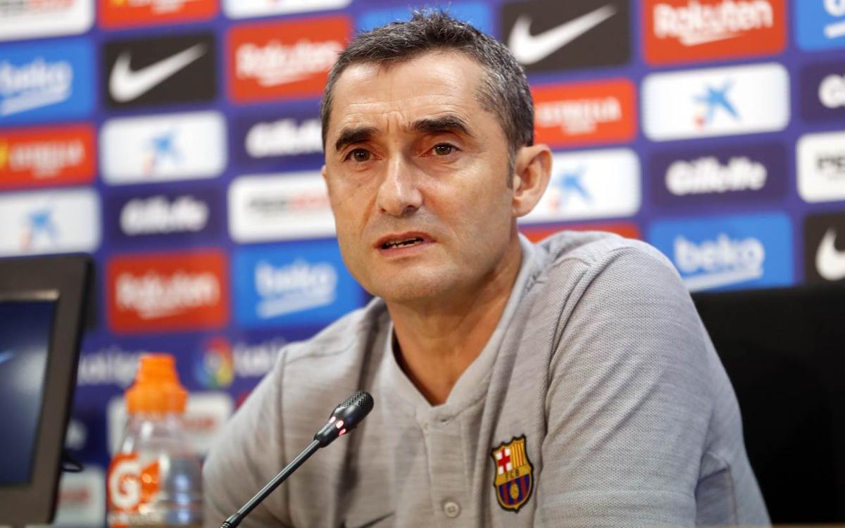 """Valverde: """"El Girona vendrá sin complejos y a ganar"""""""