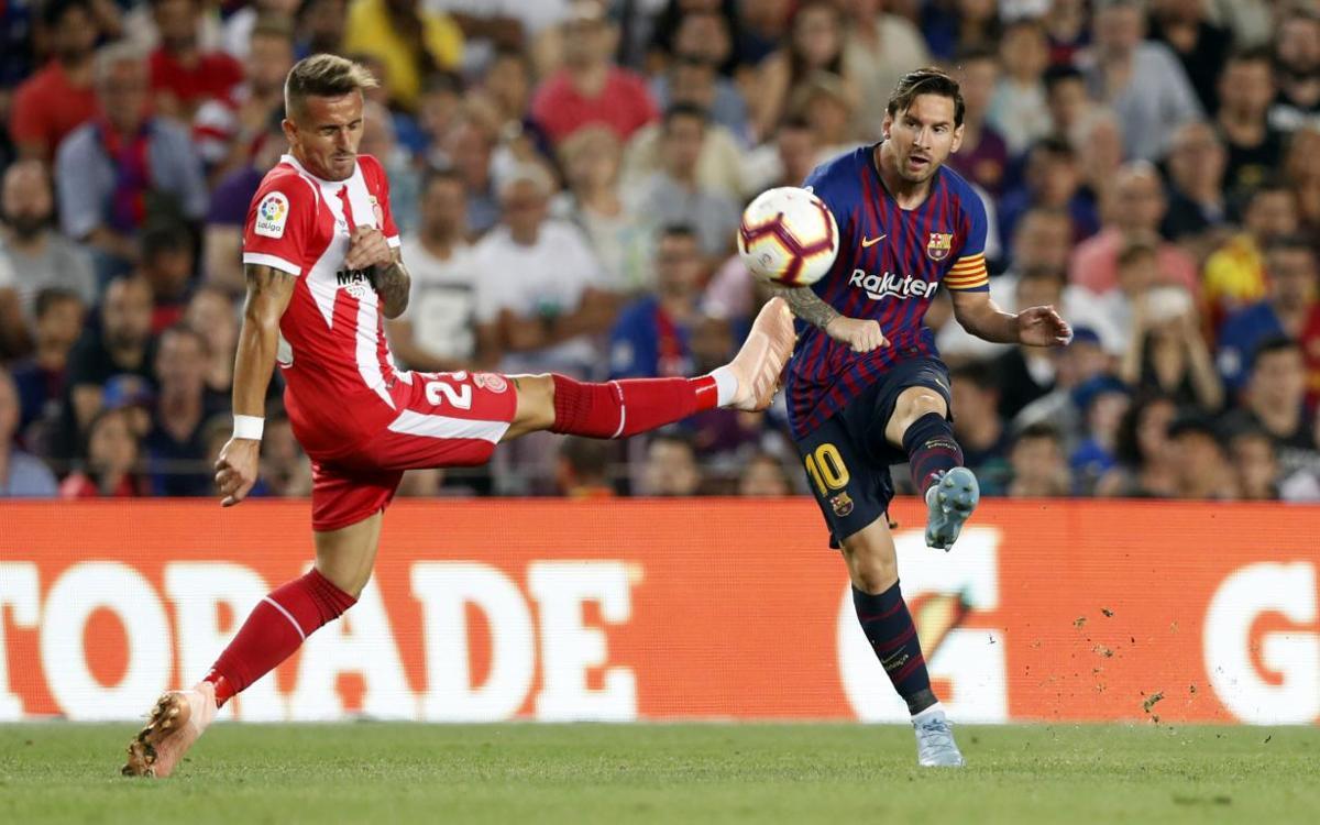 Highlights of FC Barcelona - Girona