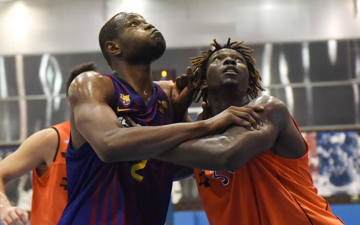 Barça TV amb els segons equips de les seccions professionals
