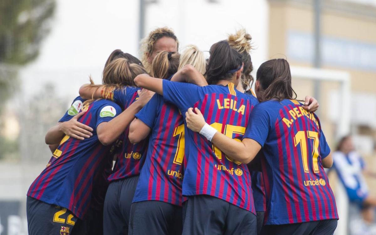Espanyol - Barça Femení: Gran victòria al derbi! (0-3)