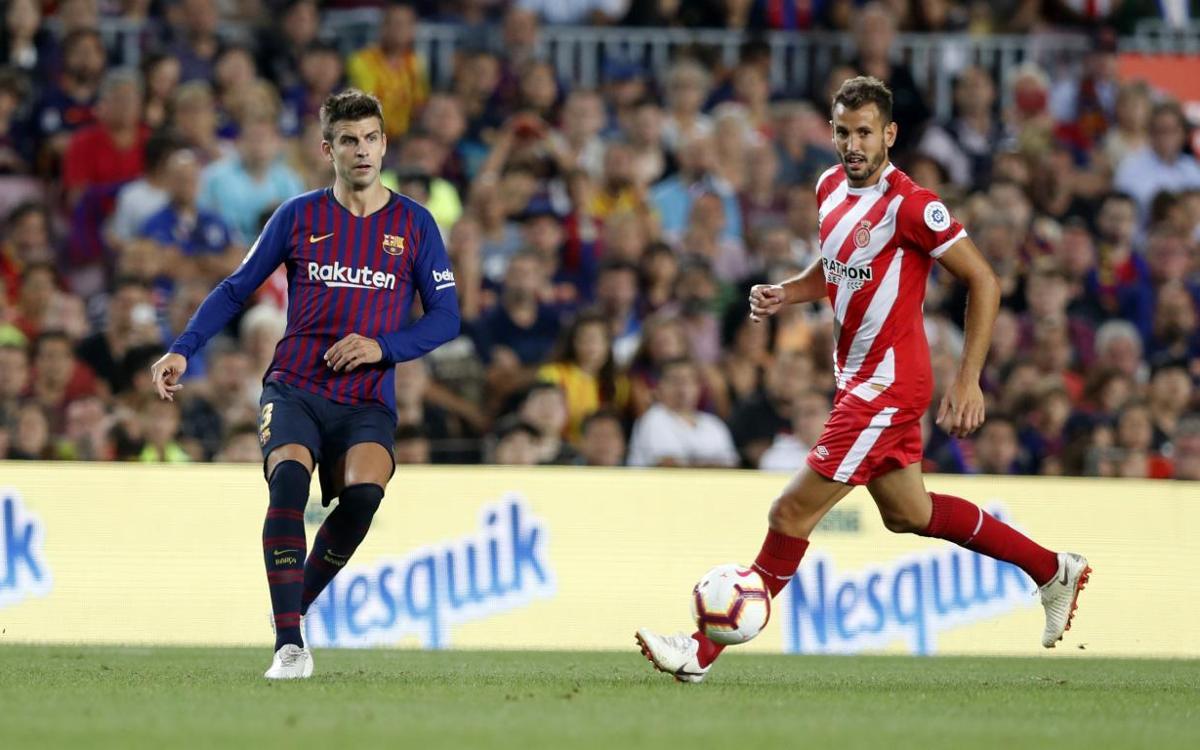 Gerard Piqué, 11 temporades marcant gols a la Lliga
