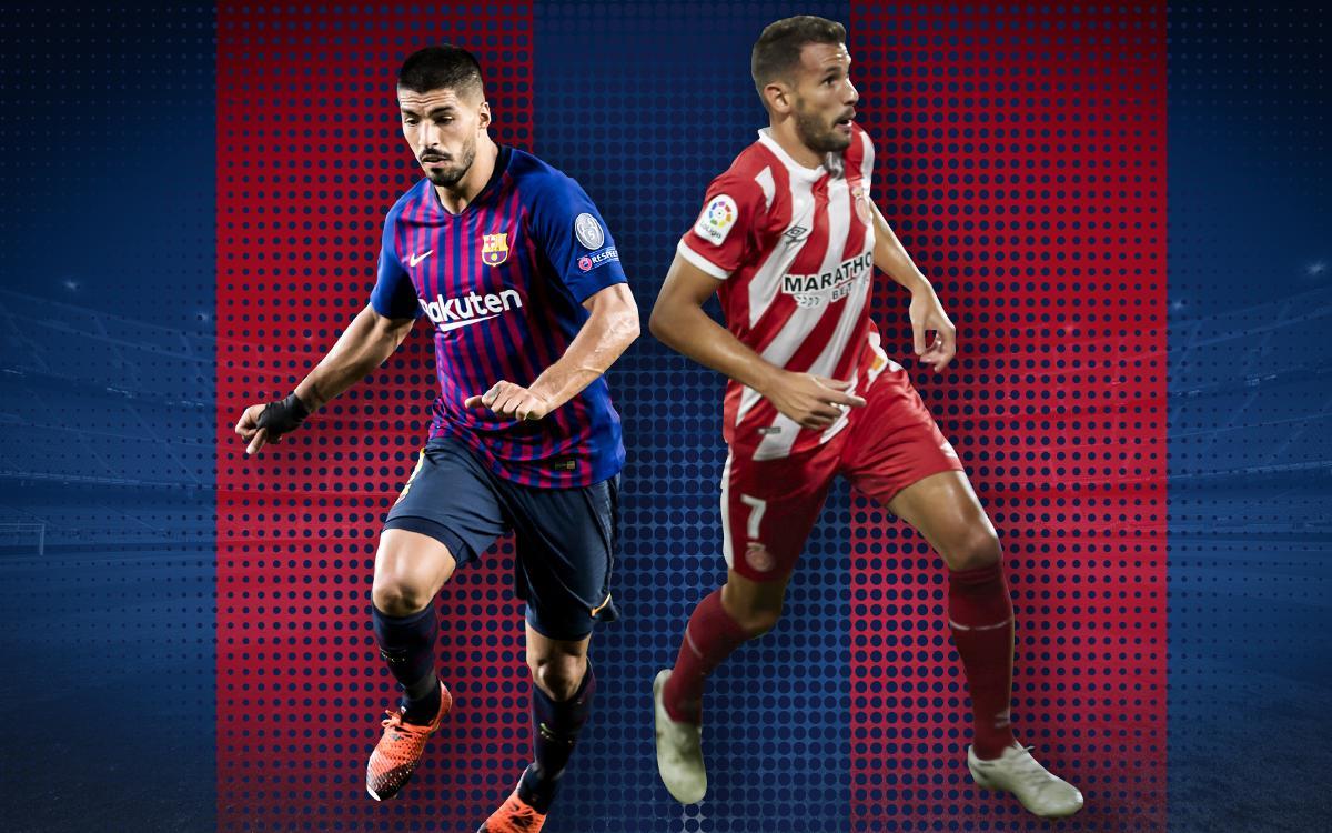 Cara a cara uruguaià en el Barça-Girona: Luis Suárez vs. Cristhian Stuani