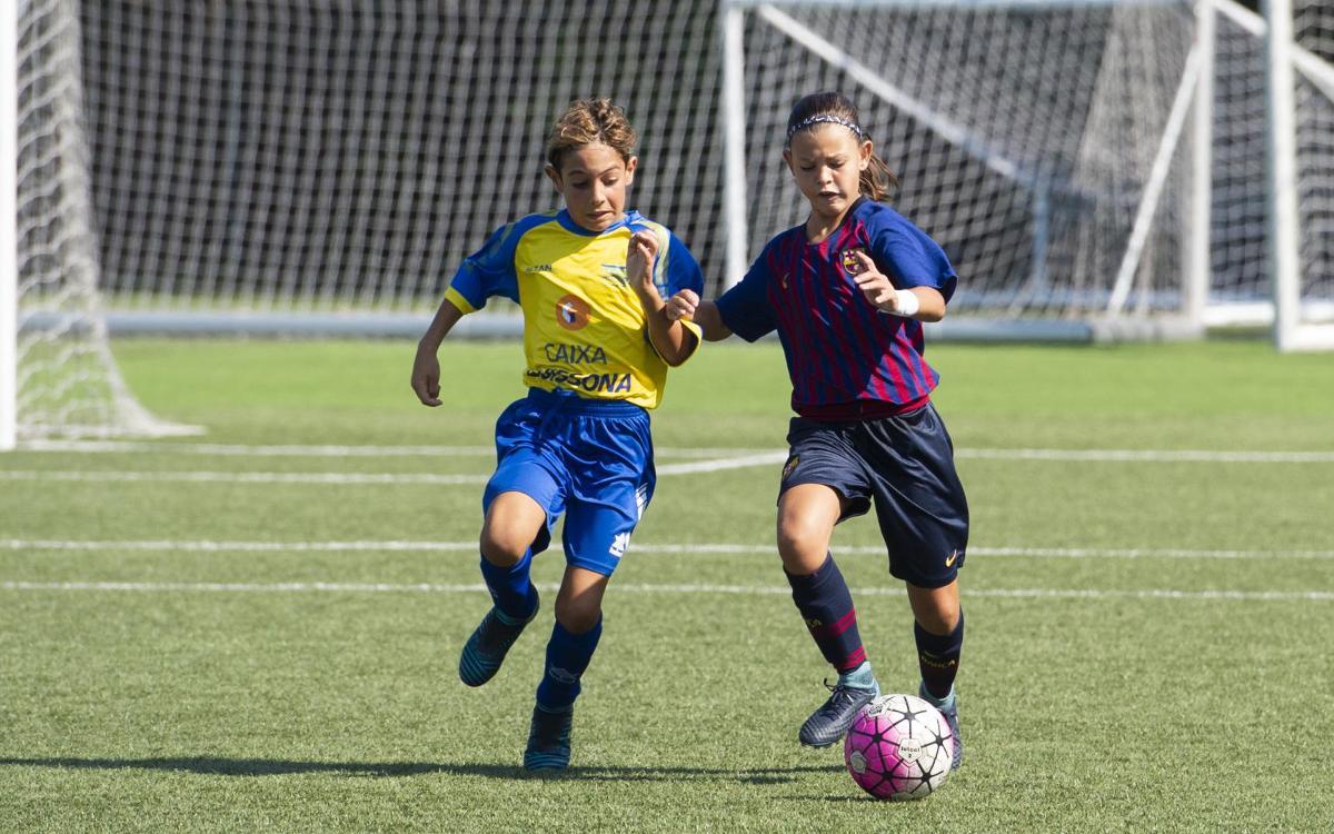 L'Aleví-Benjamí competeix en una Lliga masculina