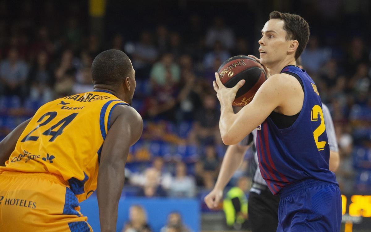 Herbalife Gran Canaria - Barça Lassa: Empieza la primera semana de triple partido