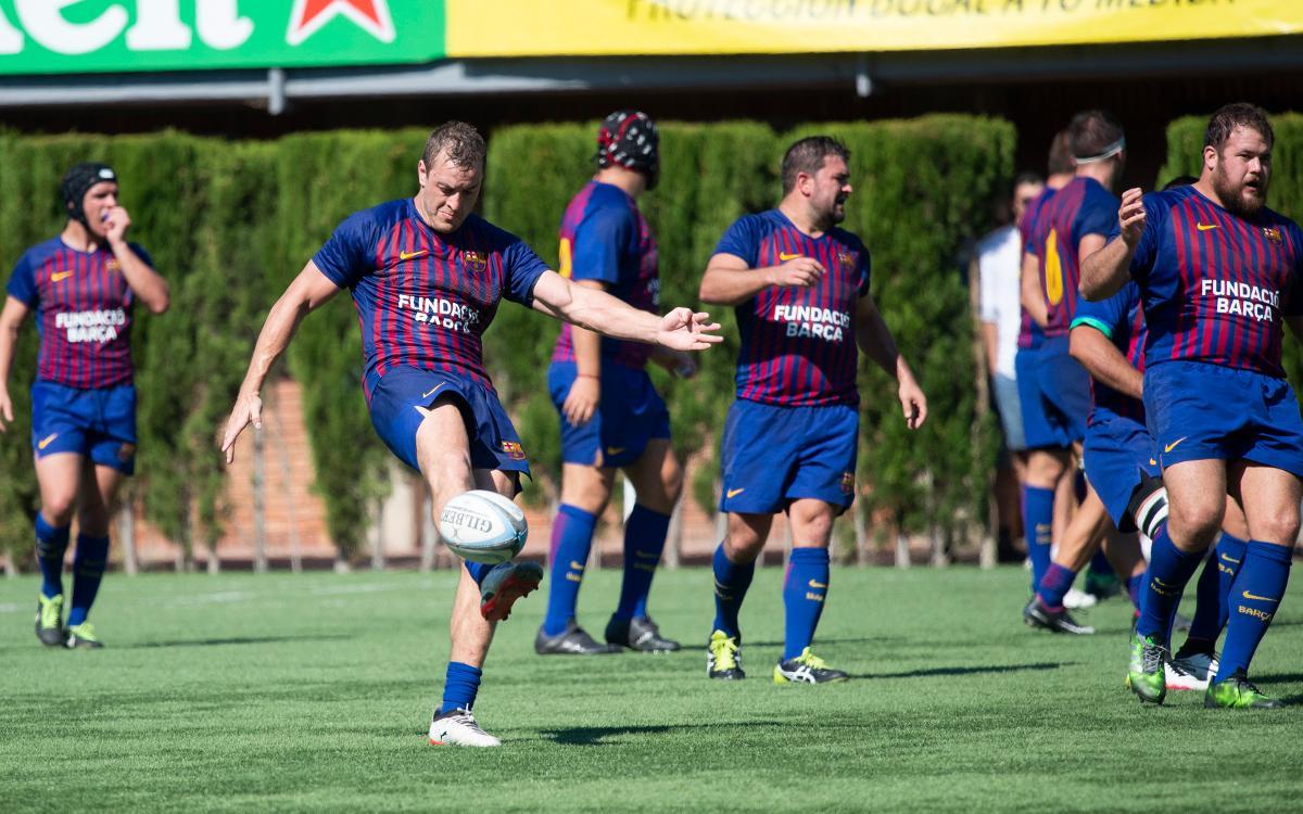 El Barça de Rugby rep l'Alcobendas en plena lluita pel segon lloc a la classificació