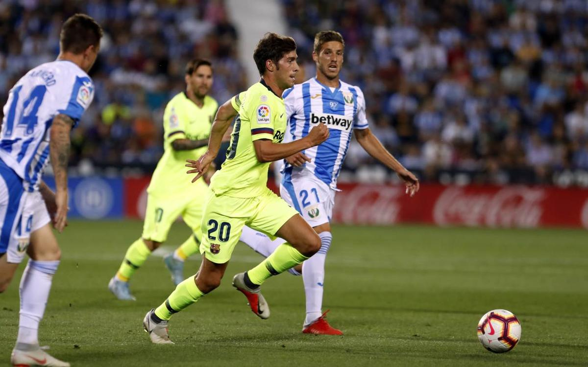 Leganés 2-1 FC Barcelona: Fateful minute