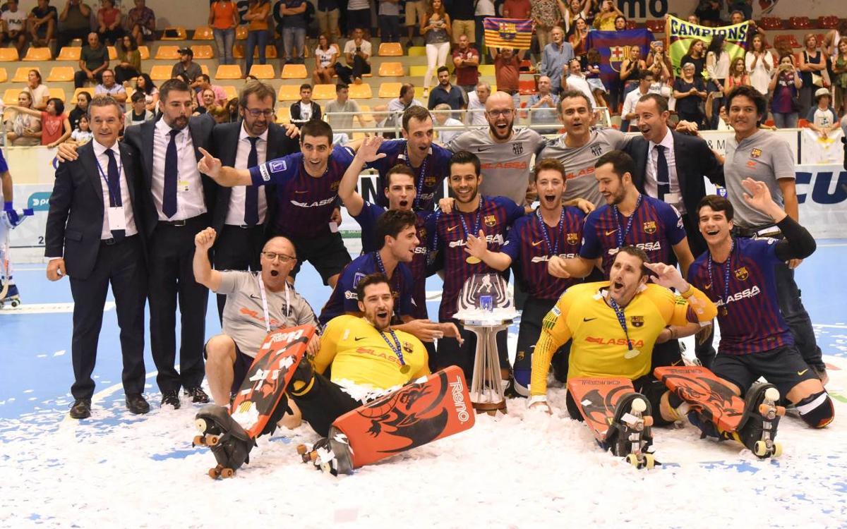 FC Porto - Barça Lassa: ¡Campeones de la Copa Continental! (3-3, 2-3)