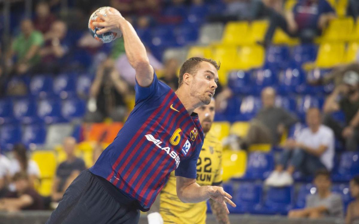 Barça Lassa – Bidasoa Irún: Triomf de menys a més (32-23)