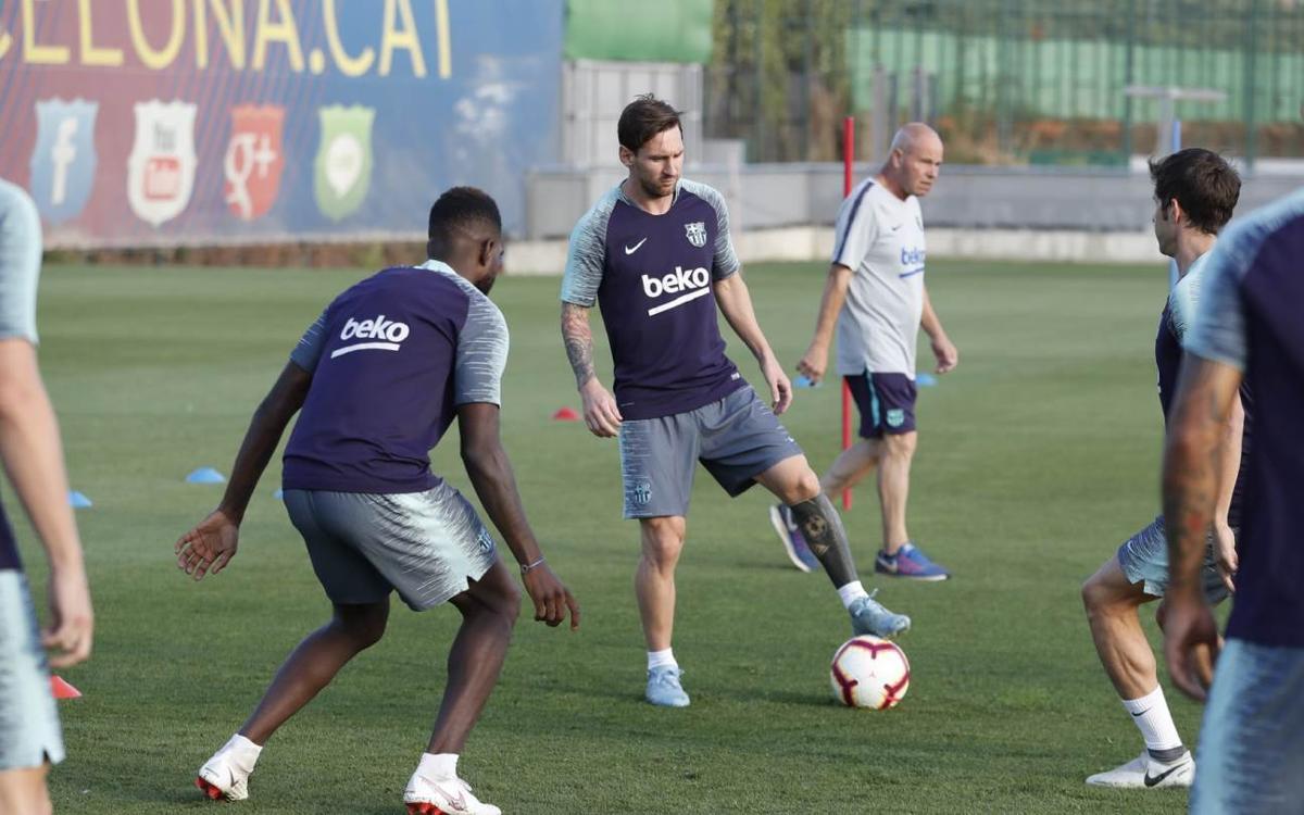 Le groupe du FC Barcelone convoqué contre Leganes