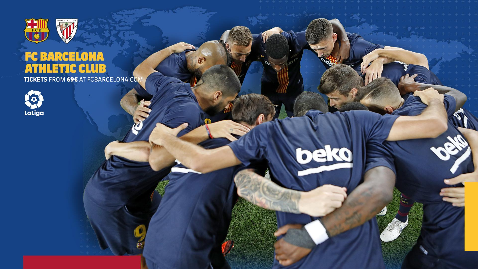 When and where to watch FC Barcelona vs Athletic Club Bilbao
