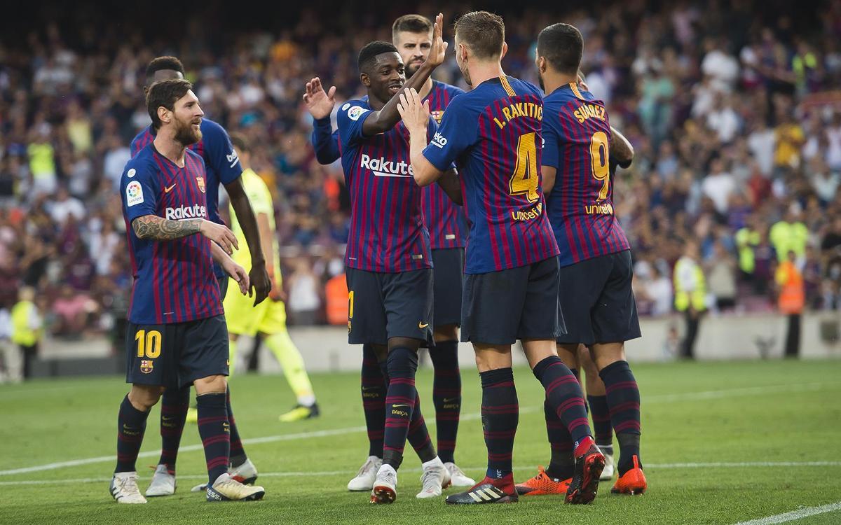 Seven different LaLiga goalscorers this season