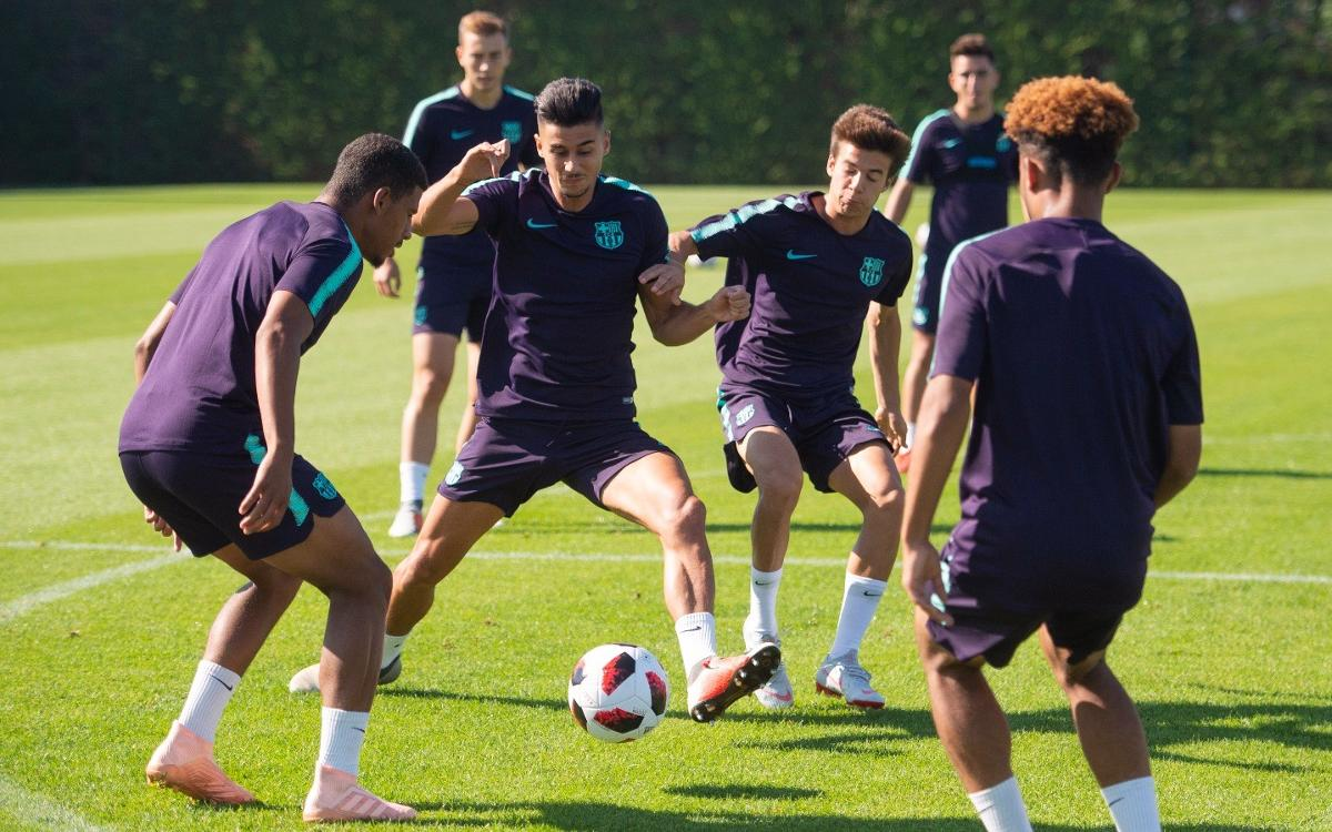 Barça B - Olot: A seguir sumant!