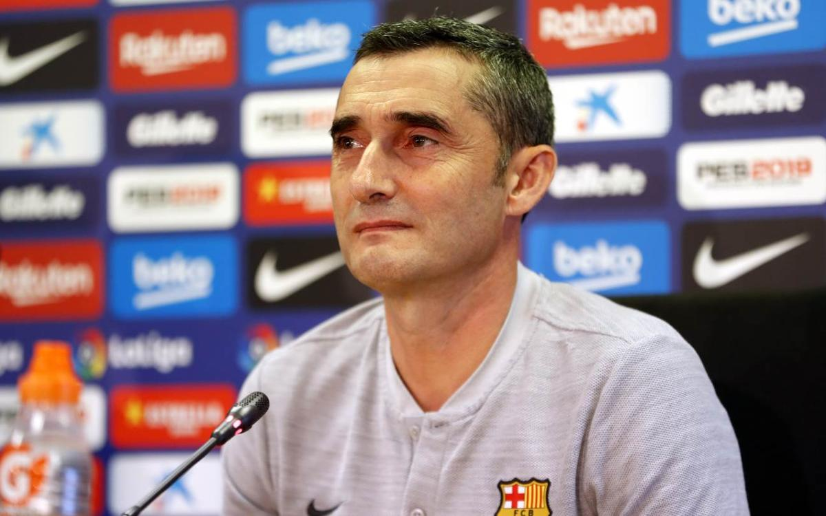 Ernesto Valverde expects Leganés to be 'well-ordered, tactically'
