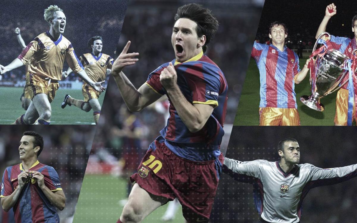 Vidéo - Les buts du FC Barcelone à Wembley en Ligue des Champions