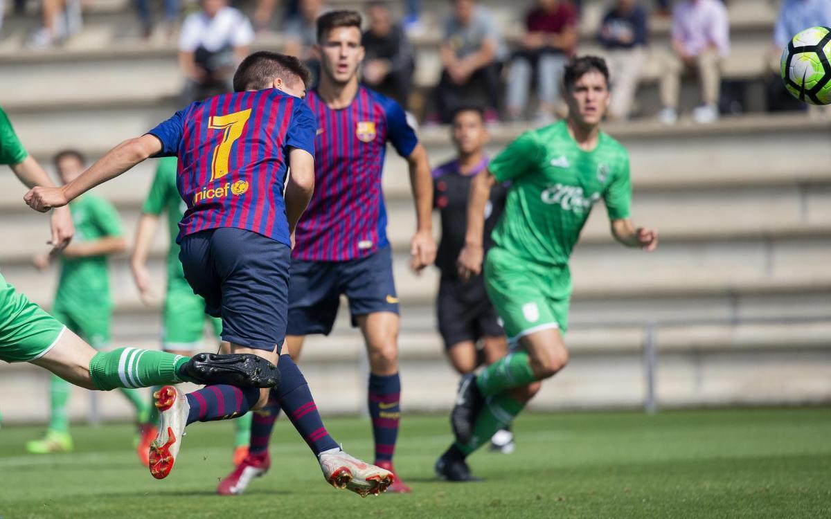Juvenil A - Stadium Casablanca: Un nuevo triunfo para consolidar el liderato (3-0)