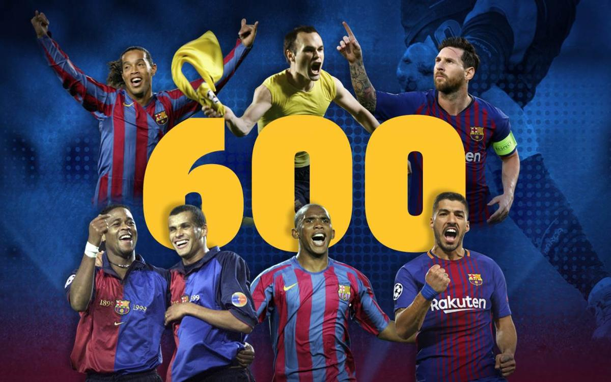 FC Barcelona score 600th Champions League goal