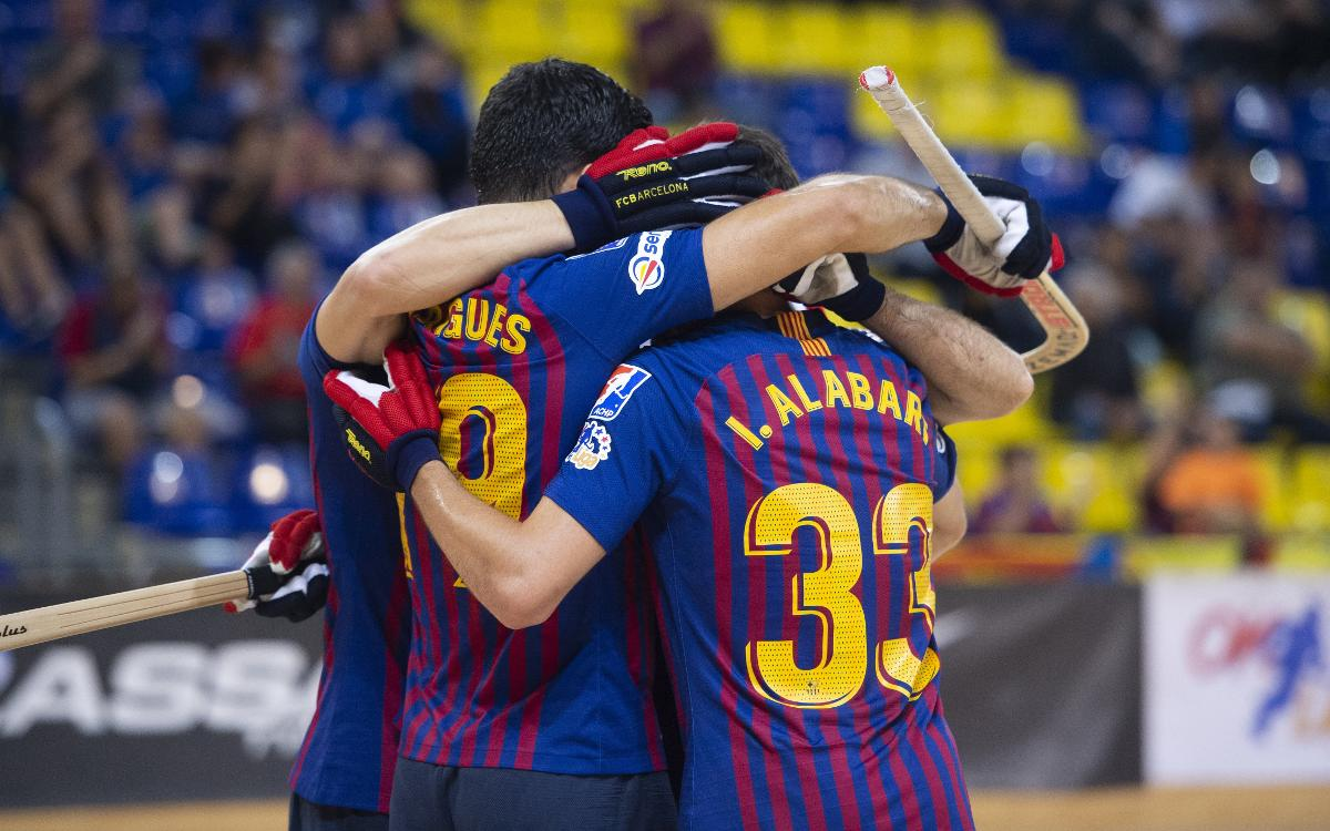 Barça Lassa - CP Voltregà: Victoria de coraje y constancia (5-2)