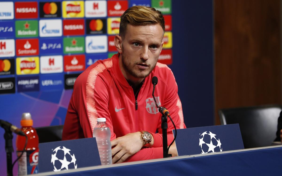Rakitic: 'The motivation is at maximum level because defending Barça is the greatest thing there is'