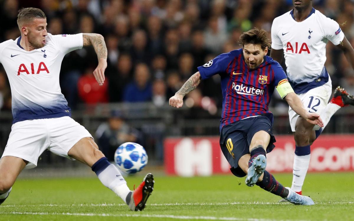マッチプレビュー: FC バルセロナ vs トッテナム