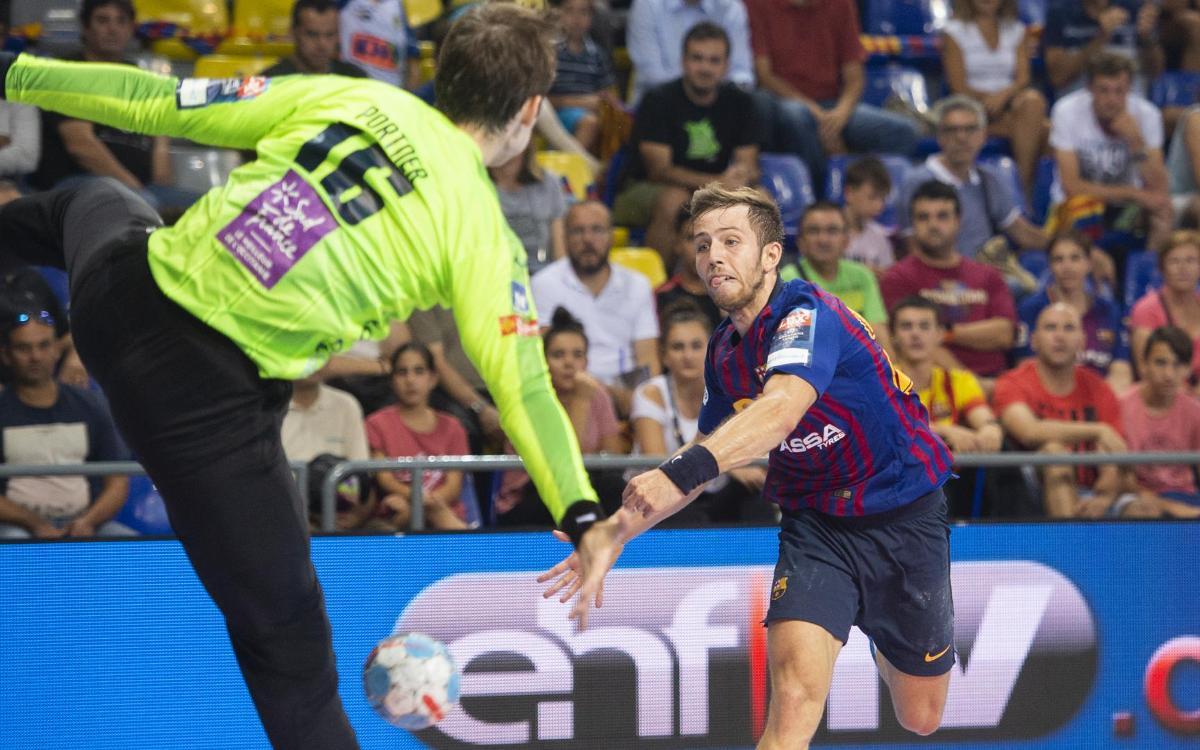 El Barça Lassa es el equipo más goleador de Europa