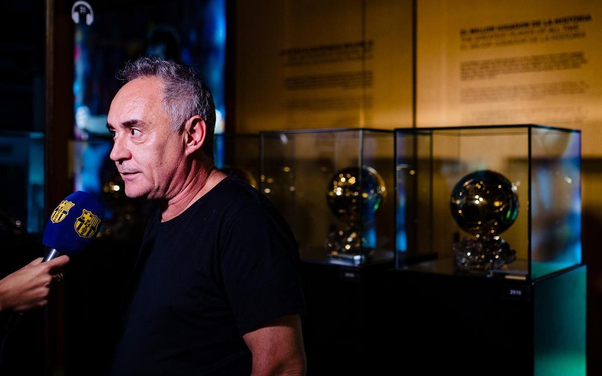 Ferran Adrià: 'Messi is the best player in history'
