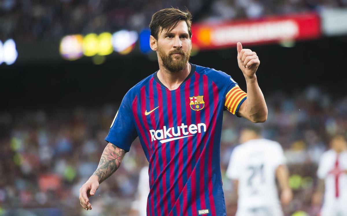 """Leo Messi: """"A la vida cal aixecar-se i lluitar pels somnis després de caure"""""""