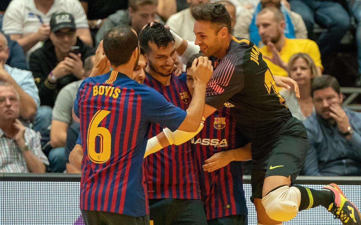 Barça Lassa – Halle-Gooik: Una victòria que és insuficient per ser primers (7-3)