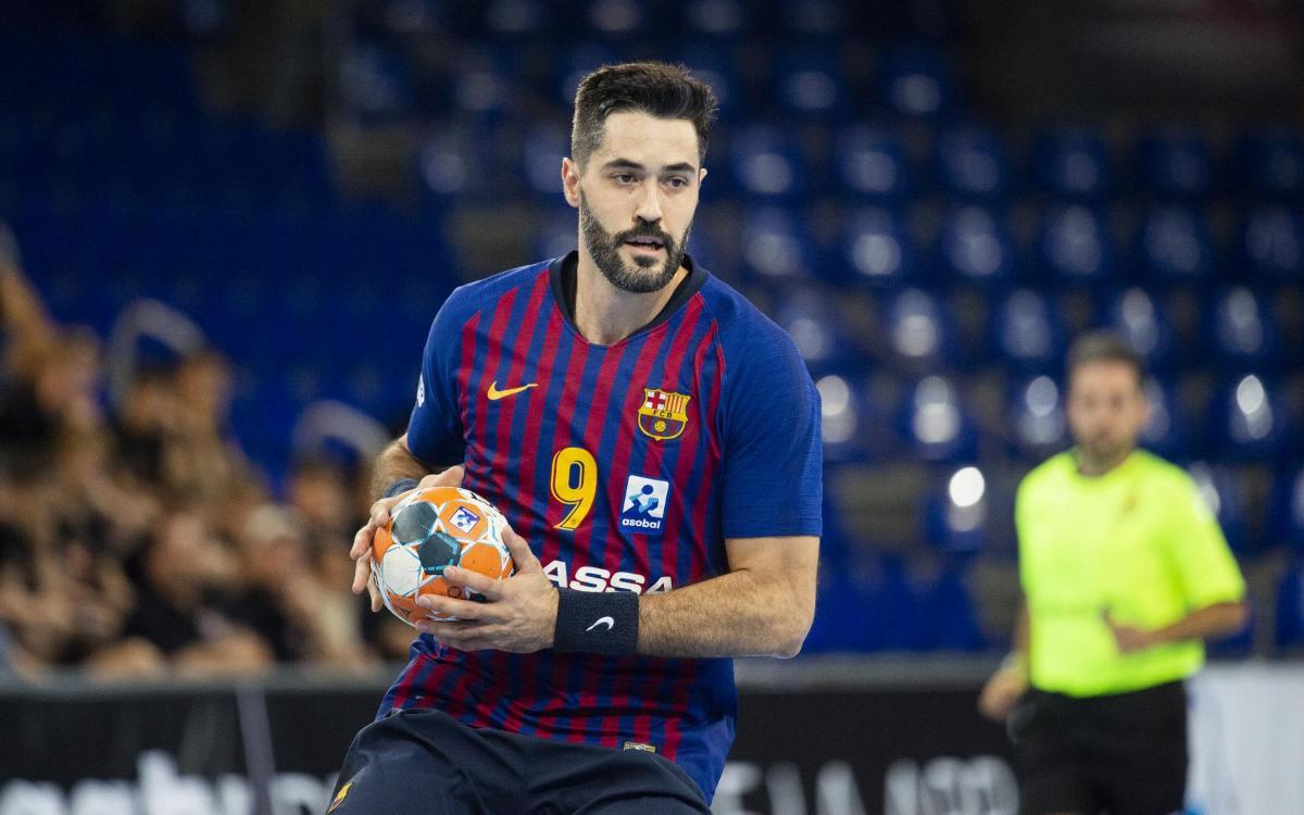 Barça Lassa – BM Biendio Sinfín: Cita amb la Lliga abans de l'aturada
