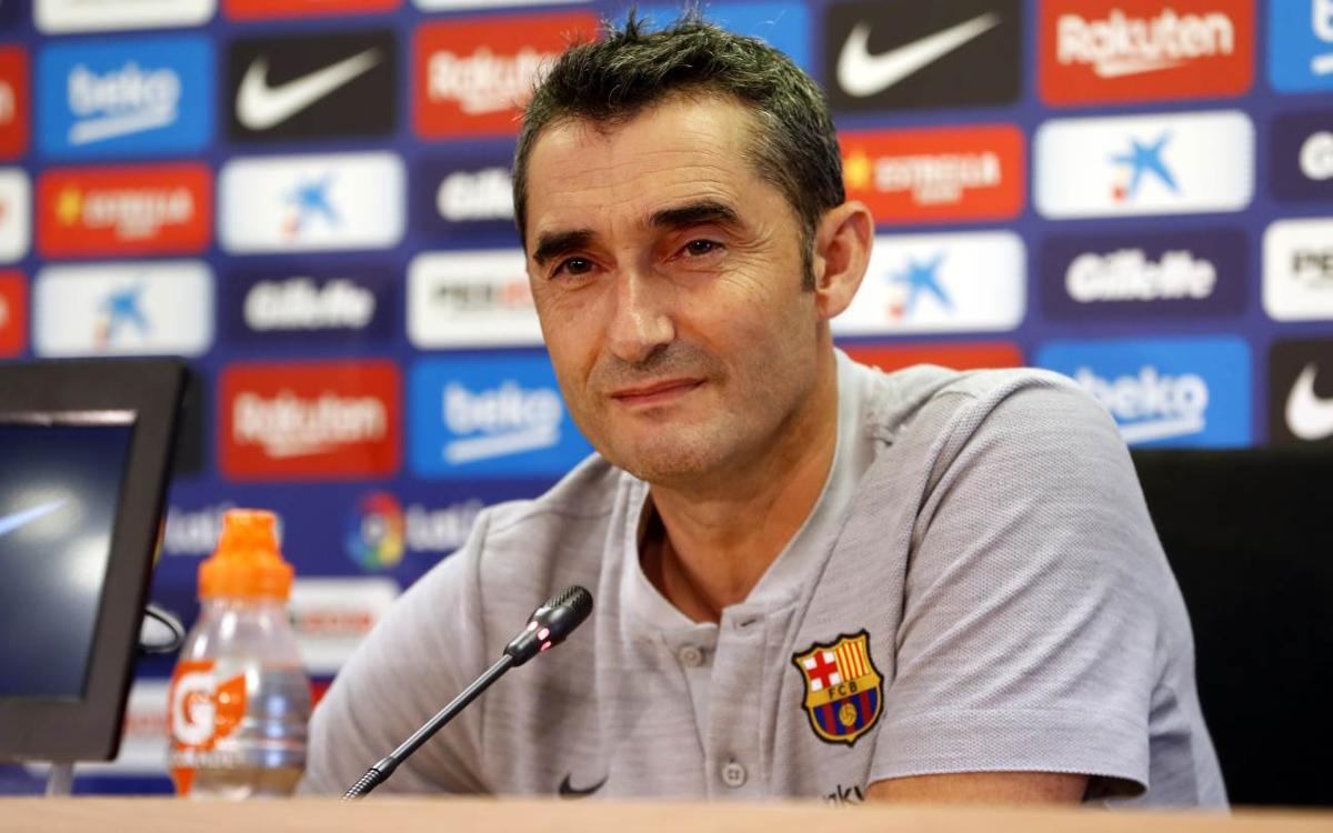 Ernesto Valverde: 'Games at Mestalla are always complicated'
