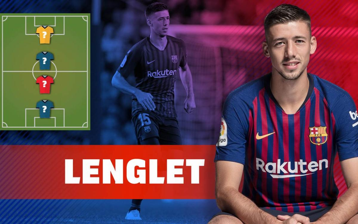 My Top 4: Clément Lenglet reveals his favorite players ever