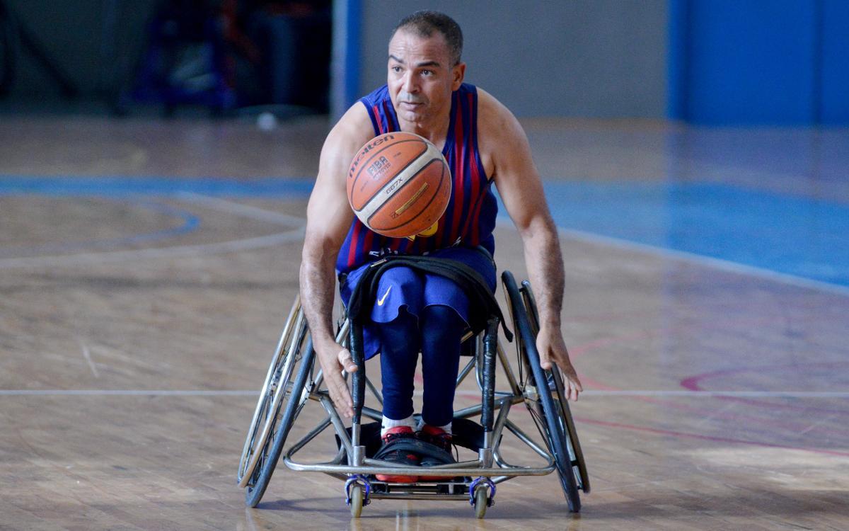 El Barça de Baloncesto en Silla de Ruedas empieza fuerte (52-29)