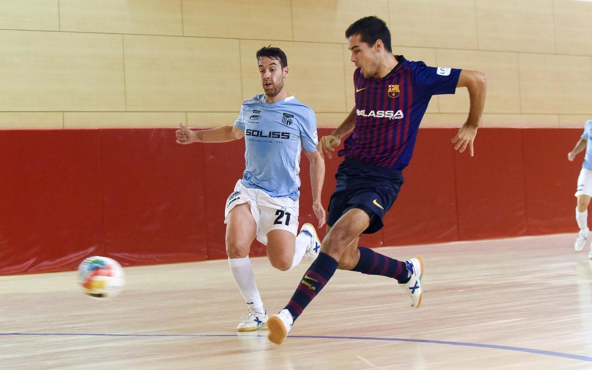 Barça Lassa B - Soliss Talavera (3-4): Dominio sin recompensa