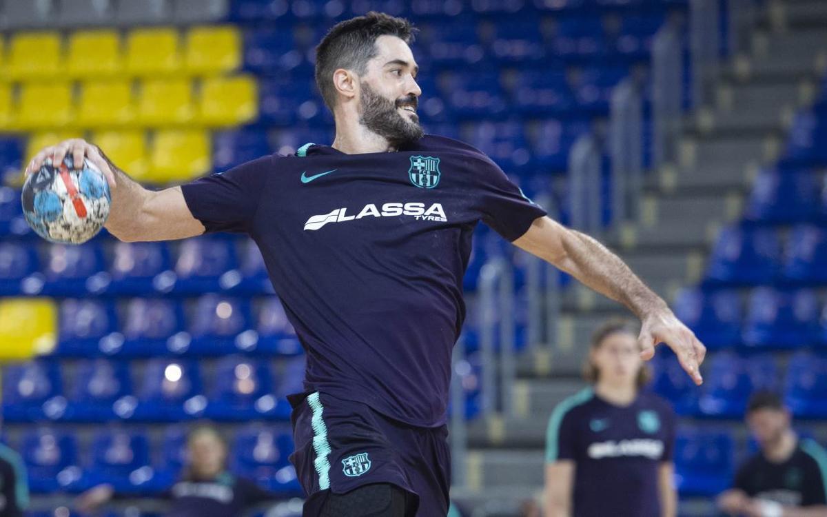"""Raúl Entrerríos: """"Hem d'anar a Benidorm amb la màxima atenció i concentració possibles"""""""
