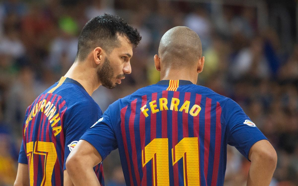 Ferrao & Esquerdinha: la dupla del gol