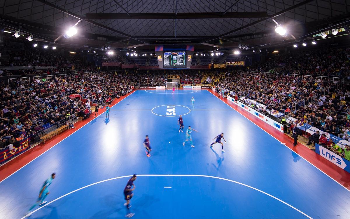 La UEFA elige el Palau para la Elite Round