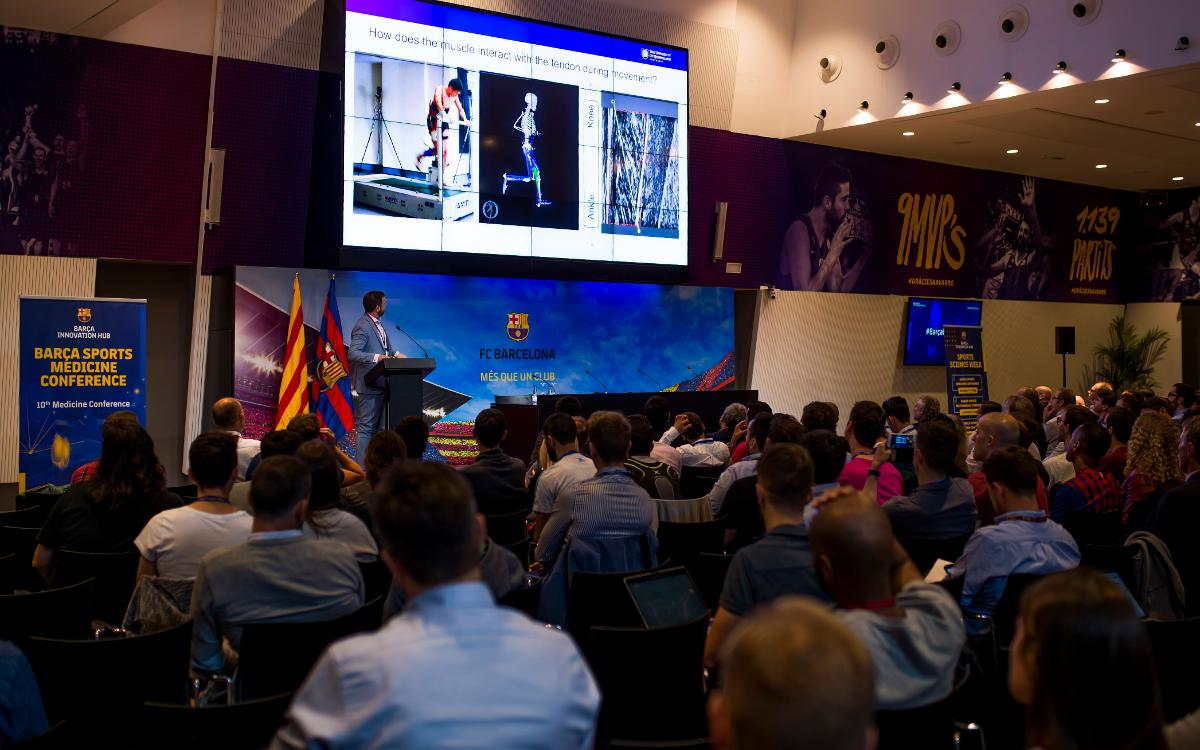 Sports medicine experts meet at the Barça Sports Medicine Conference