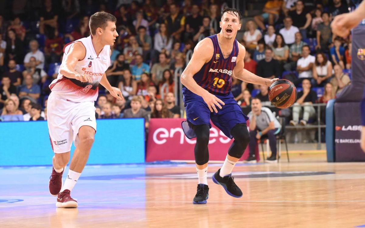 Tecnyconta Saragossa - Barça Lassa: Visita un rival en ratxa
