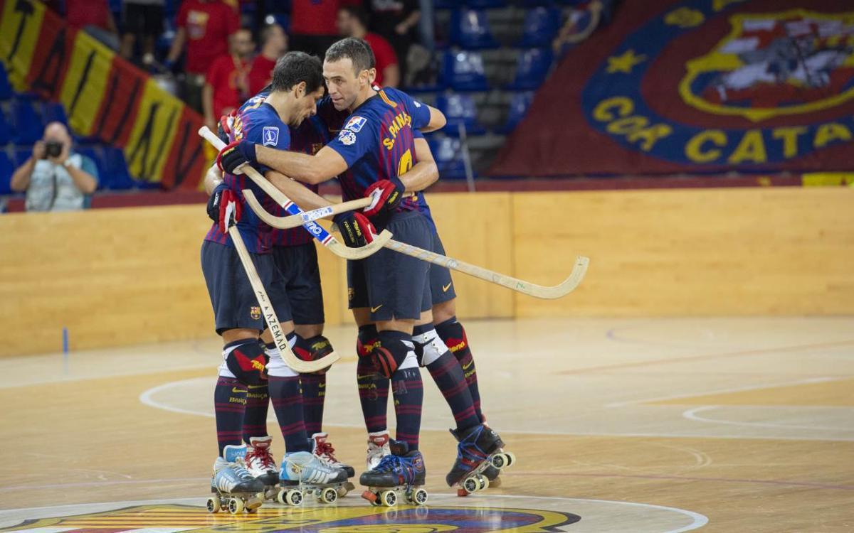 Barça Lassa 9-2 Follonica: Great start in Europe