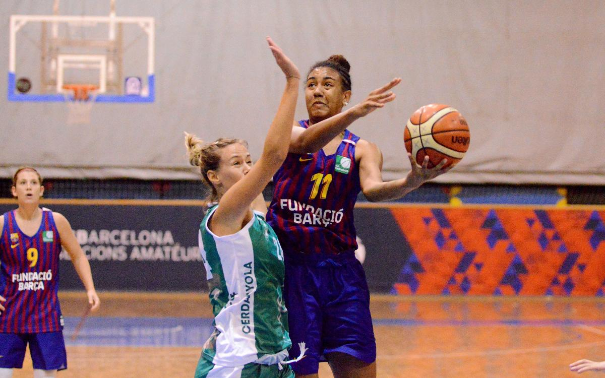 La defensa un nuevo valor del Barça de Baloncesto Femenino