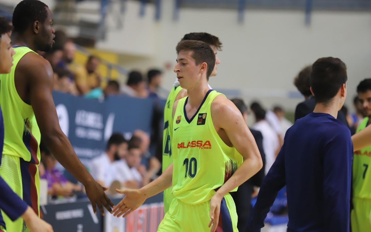 Les dades del triomf a Melilla del Barça Lassa B de bàsquet