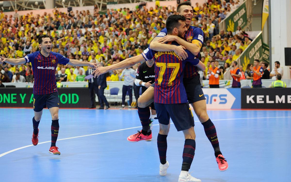 Jaén Paraíso Interior 1-7 Barça Lassa: Blaugrana recital