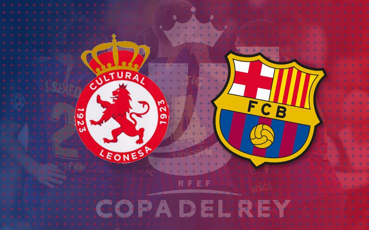 La Cultural Leonesa, rival del FC Barcelona en los dieciseisavos de final de la Copa del Rey