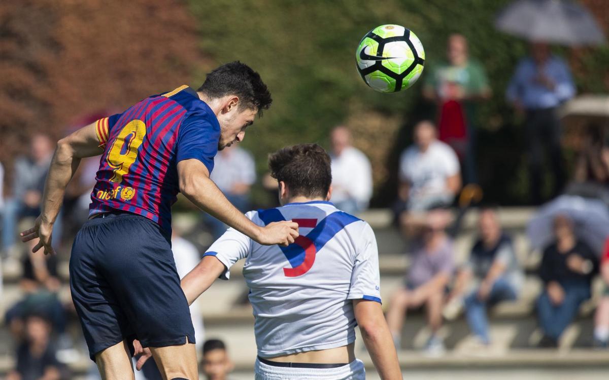 Els millors gols del cap de setmana a La Masia!