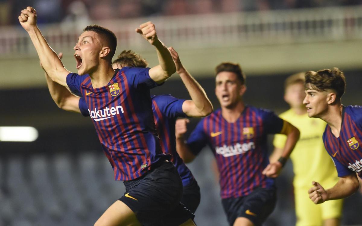 Barça B – Vila-real B: Empat in extremis contra el líder al Miniestadi (1-1)