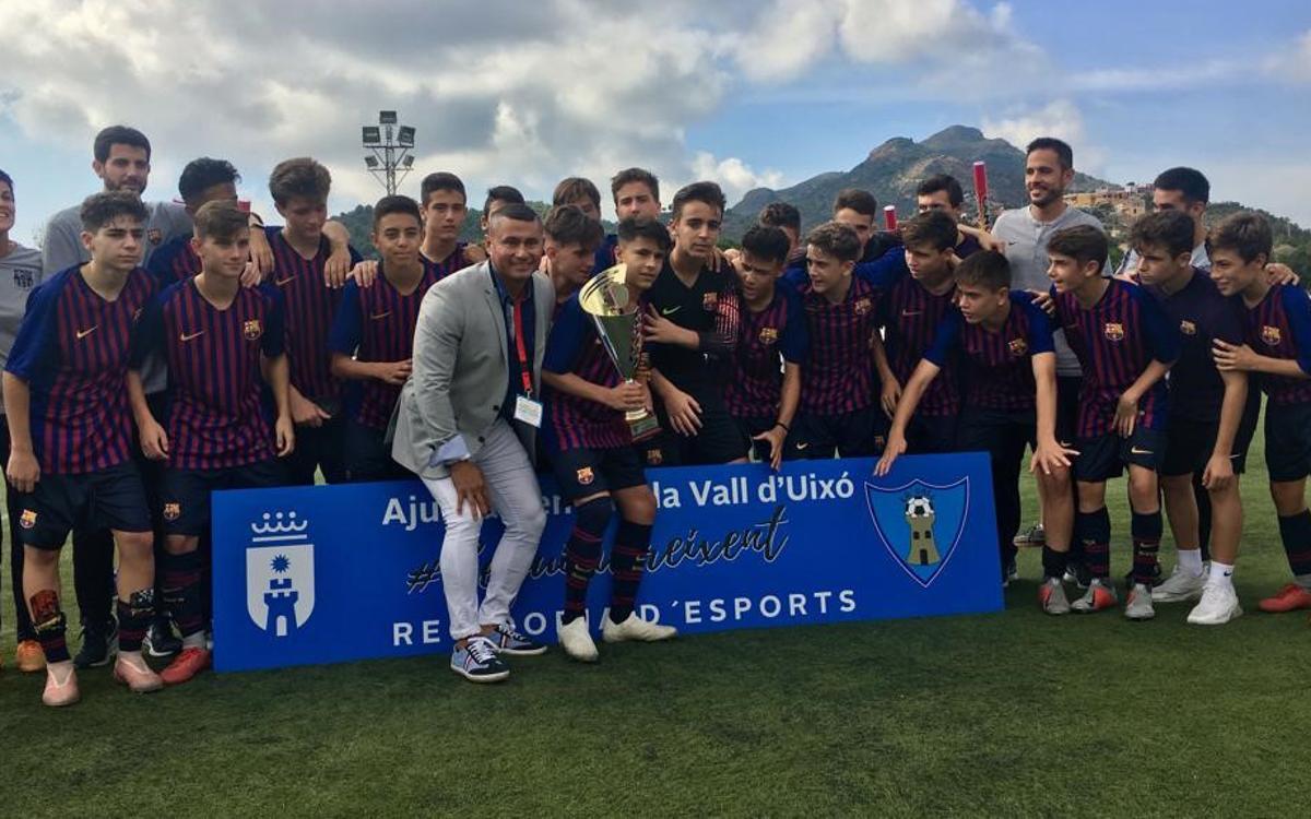 El Cadete B gana el Torneo Nacional sub15